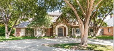 Amarillo Single Family Home For Sale: 3513 Kensington Pl