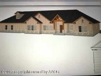 Amarillo Single Family Home For Sale: 1911 Las Tecovas Trl