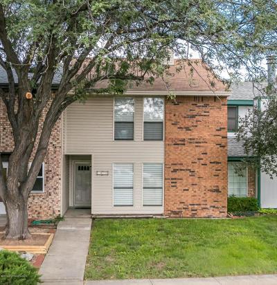 Amarillo Condo/Townhouse For Sale: 6904 Hurst St