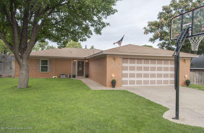 Amarillo Single Family Home For Sale: 7809 Hermosa Dr