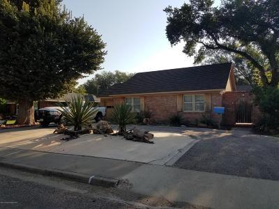 Amarillo Single Family Home For Sale: 2217 Peach Tree St