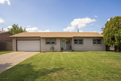 Amarillo Single Family Home For Sale: 3100 Mockingbird Ln