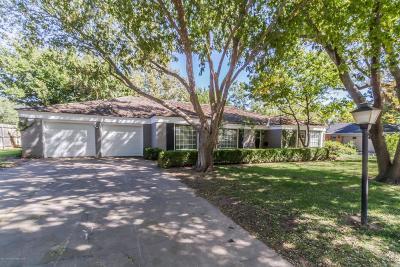 Amarillo Single Family Home For Sale: 3909 Doris Dr