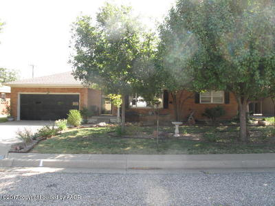 Amarillo Single Family Home For Sale: 3503 Bryan St