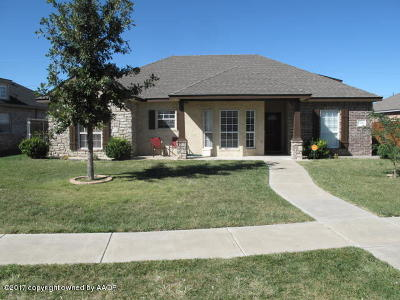 Amarillo Single Family Home For Sale: 1506 61st Ave