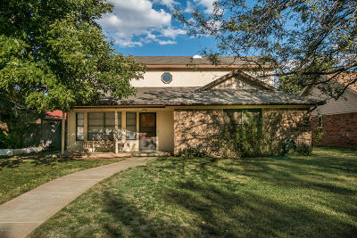 Amarillo Single Family Home For Sale: 5907 Hardwick Dr