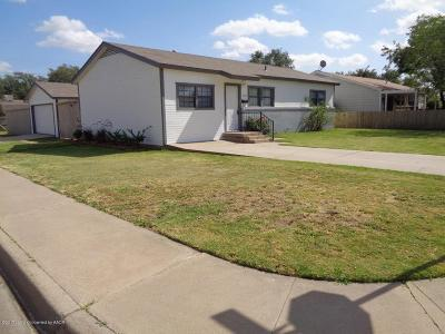 Amarillo Single Family Home For Sale: 5101 Bowie St
