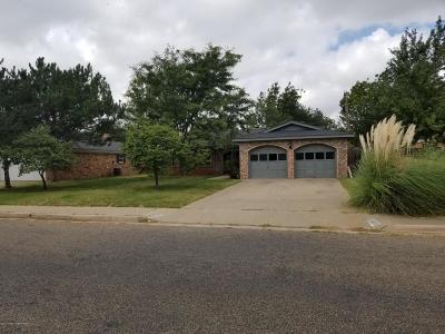 Amarillo Single Family Home For Sale: 4430 Evelyn S St