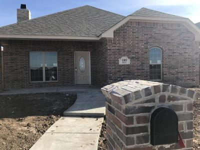 Amarillo Single Family Home For Sale: 6309 Mosley St