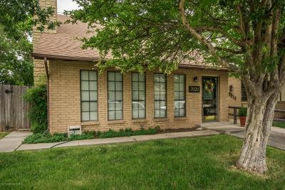 Amarillo Condo/Townhouse For Sale: 7020 Hurst St