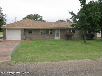 Carson County Single Family Home For Sale: 610 Martin