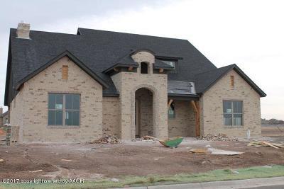 Amarillo Single Family Home For Sale: 6205 Carroll Gardens