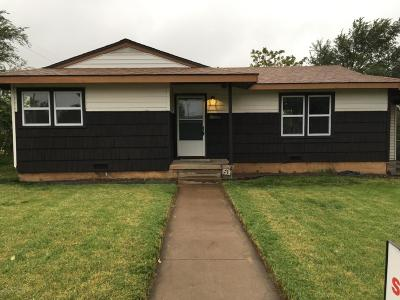 Amarillo Single Family Home For Sale: 1501 Maple St