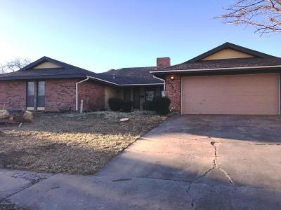 Amarillo TX Single Family Home For Sale: $168,500