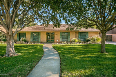 Single Family Home For Sale: 3807 Carlton Dr