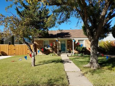 Amarillo Single Family Home For Sale: 3622 Hayden St