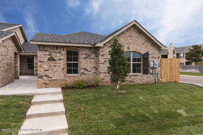 Amarillo Condo/Townhouse For Sale: 6321 Mayer Ct.