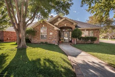 Amarillo Single Family Home For Sale: 8303 Plymouth Dr