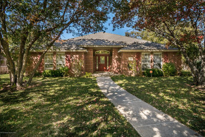 Amarillo Single Family Home For Sale: 7308 Andover Dr