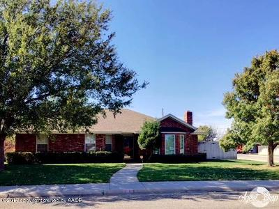 Randall County Single Family Home For Sale: 6823 Daniel Dr
