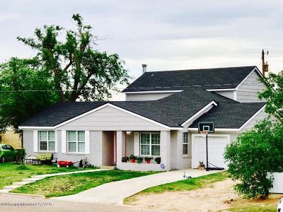 Borger Single Family Home For Sale: 103 Garrett