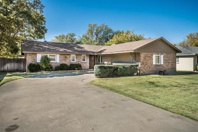 Amarillo Single Family Home For Sale: 3710 Fleetwood Dr