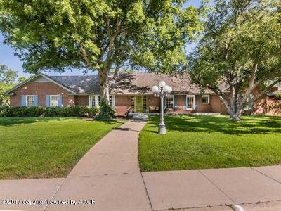 Amarillo Single Family Home For Sale: 3902 Paramount Blvd