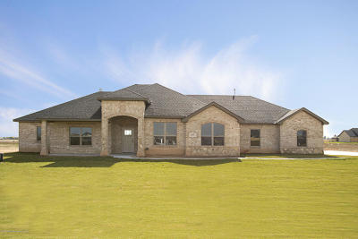 Amarillo Single Family Home For Sale: 9625 Yesterday Ln