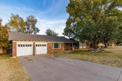 Amarillo Single Family Home For Sale: 3407 Paramount Blvd
