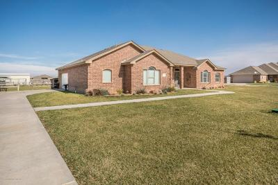 Amarillo Single Family Home For Sale: 19050 Stone Creek Rd