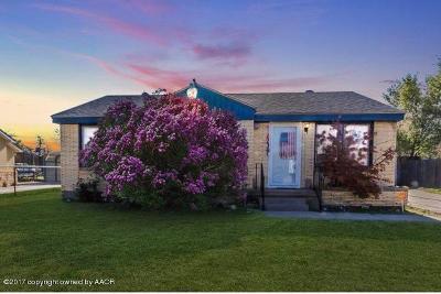 Amarillo Single Family Home For Sale: 3314 Martin Rd
