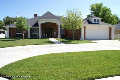Amarillo Single Family Home For Sale: 7002 Dreyfuss Rd