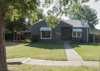 Amarillo Single Family Home For Sale: 923 Milam S St