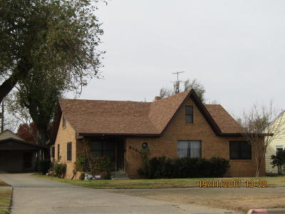 Borger Single Family Home For Sale: 912 McGee S St.