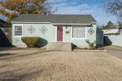 Amarillo Single Family Home For Sale: 2102 Van Buren St