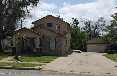 Single Family Home For Sale: 928 E Fisher St