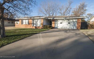 Single Family Home For Sale: 4712 Bryan St