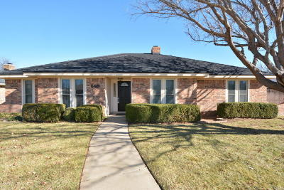 Amarillo Single Family Home For Sale: 6419 Hinsdale Dr