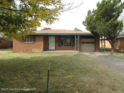 Single Family Home For Sale: 3508 Lynette Dr