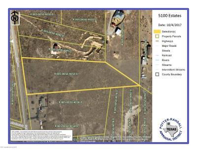 Amarillo Residential Lots & Land For Sale: 5100 Estates Dr