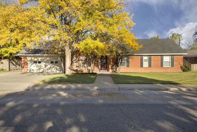 Potter County, Randall County Single Family Home For Sale: 6208 Gainsborough Rd