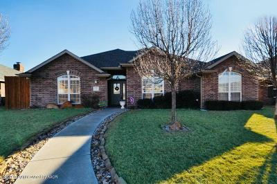 Amarillo Single Family Home For Sale: 7903 Little Rock Dr