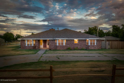 Amarillo Single Family Home For Sale: 7901 Goodnight Trl