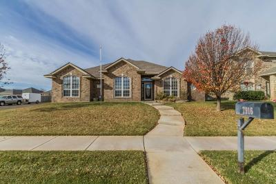 Amarillo Single Family Home For Sale: 7916 Little Rock Dr
