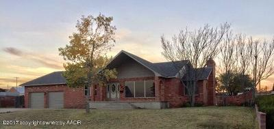 Borger Single Family Home For Sale: 703 Montana St.