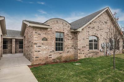 Amarillo Condo/Townhouse For Sale: 6309 Mayer Ct