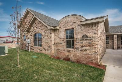 Amarillo Condo/Townhouse For Sale: 6307 Mayer Ct