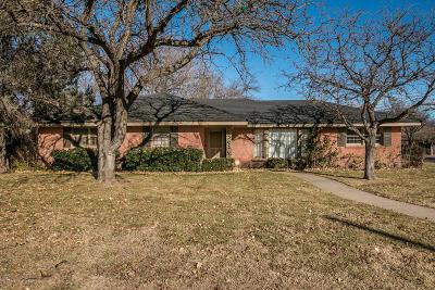 Amarillo Single Family Home For Sale: 5500 Everett Ave