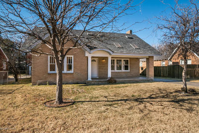 Amarillo Single Family Home For Sale: 2610 Washington St