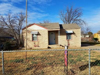Amarillo Single Family Home For Sale: 1609 Nix St